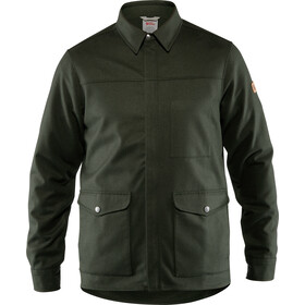 Fjällräven Greenland Camisa Chaqueta Re-Wool Hombre, deep forest